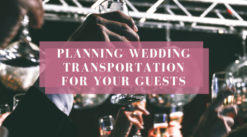 How to Properly Plan Wedding Transportation for Your Guests